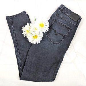 Guess Men's Slim Tapered Black Jeans SZ 34 x 32